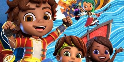 """Nickelodeon estrena """"Santiago of the Seas"""", una nueva serie bilingue"""