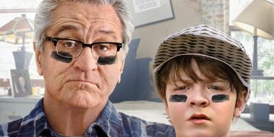 Un niño latino convierte a Robert de Niro en un abuelo gruñón, en el cine