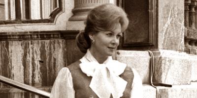 Murió a los 97 años Rhonda Fleming, destacada actriz del Hollywood clásico