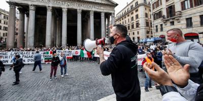 El Gobierno italiano afronta las protestas de sectores afectados por cierres