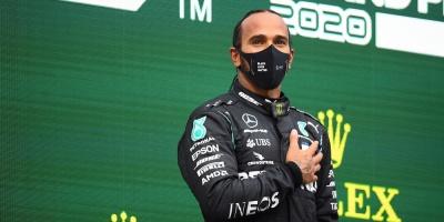"""Hamilton: """"Espero que el año próximo sea aún mejor, quiero seguir"""""""