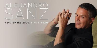 Alejandro Sanz brindará un concierto vía streaming el próximo 5 de diciembre