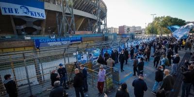 De Laurentiis confirma que el San Paolo pasará a llamarse Diego Maradona