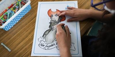 """""""El Quijotito"""" uruguayo se relanza entre reconocimientos, pintura y niños"""