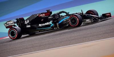Hamilton también saldrá primero en Bahrein