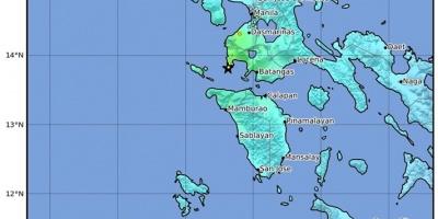 Terremoto de magnitud 6,3 sacude la isla filipina de Luzón