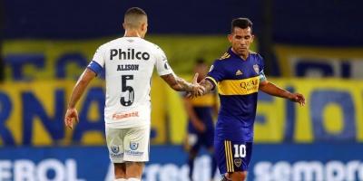 Boca y Santos empatan sin goles y definirán la serie en Vila Belmiro