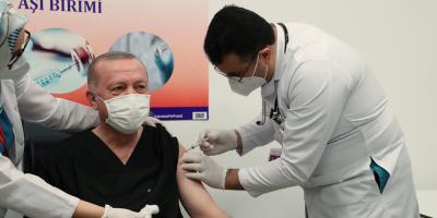 Turquía vacunó a más de medio millón de personas desde el jueves