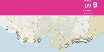 Una aplicación de la Intendencia de Montevideo informa el aforo de las playas para evitar aglomeraciones