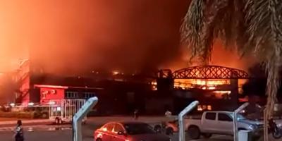 Un incendio arrasó con las instalaciones del Autódromo de Termas de Río Hondo