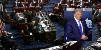 Se lleva cabo  juicio político contra Donald Trump por asalto al Capitolio