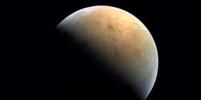 La sonda emiratí captura su primera imagen de Marte tras entrar en la órbita