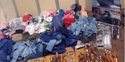 Armada Nacional incautó mercadería valuada en $ 647.660 en Salto