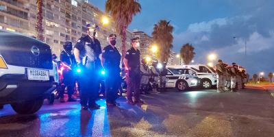 La Policía realizó más de 600 intervenciones por aglomeraciones en Semana de Turismo