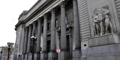 """Realizan paro en dependencias del BROU por falta de """"resguardo sanitario"""""""