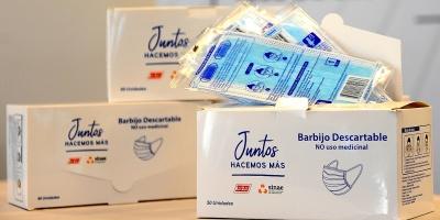 Ta-Ta anunció una nueva donación de 125.000 barbijos para las personas más necesitadas a través del Sistema Nacional de Emergencias