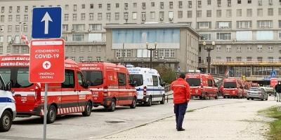 Ingresados en Portugal bajan de medio millar por primera vez desde septiembre