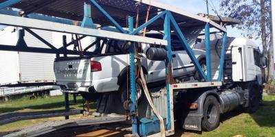 Incautaron varios vehículos brasileños con adulteraciones en Rivera