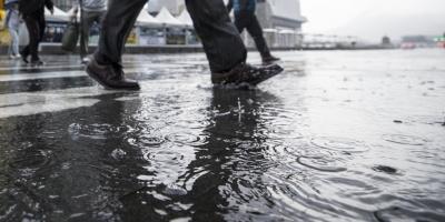 Se registran tormentas y lluvias en gran parte del país