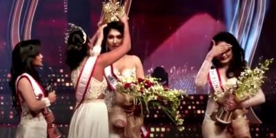 Detienen reina del concurso de belleza Mrs World, Caroline Jurie, y a una ex modelo por agredir a la ganadora del certamen Mrs Sri Lanka 2021 en plena ceremonia de coronación