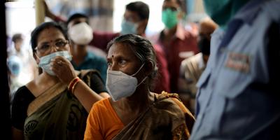 La India superó a Brasil como el segundo país más afectado por la pandemia