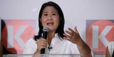 Keiko Fujimori accede a segunda vuelta en Perú, al 88,8 % de votos computados