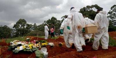 Brasil supera los 13,5 millones de casos de covid y roza las 355.000 muertes
