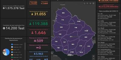 52 fallecidos, 2.644 nuevos casos y 31.055 casos activos
