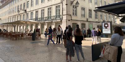 Portugal suma 501 positivos, bajan los ingresos y sube el índice de contagios