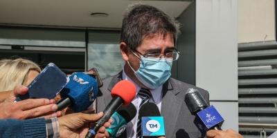 El presidente de ASSE, Leonardo Cipriani, lamentó los fallecimientos de pacientes con COVID-19 ocurridos en Salto y Bella Unión