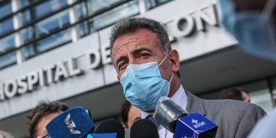 """El ministro Daniel Salinas dijo que el sistema hace más de 14 días que el sistema sanitario """"está estable y no supera el 75% de ocupación"""""""