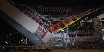 23 muertos y 65 hospitalizados al desplomarse un metro en Ciudad de México