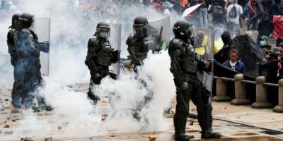 """Multitudinarias marchas en Colombia en el inicio del segundo """"paro nacional"""""""