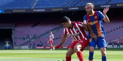 Barcelona y el Atlético de Madrid empatan el partido por el liderato