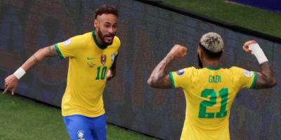 Brasil con goleada y Colombia con triunfo ajustado toman control del Grupo B