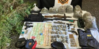 Tres sujetos detenidos por el suministro de armas de fuego a delincuentes