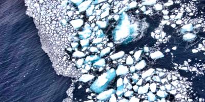 La última zona helada del Ártico mostró en 2020 una drástica pérdida de hielo