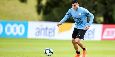 El uruguayo Maxi Gómez se une a los entrenamientos