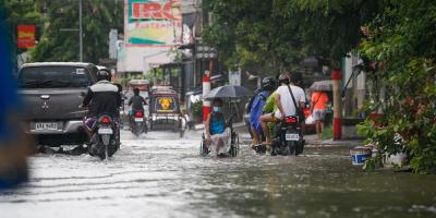 Más de 72.000 desplazados por las inundaciones en el oeste de Filipinas