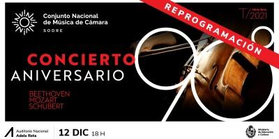 """Música de Cámara: el Sodre debió suspender este lunes el """"Concierto Aniversario"""" por cuarentena preventiva de uno de sus músicos"""
