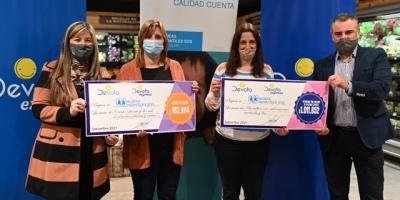 Devoto y Devoto Express donan a Aldeas Infantiles cerca de 1.200.000 de pesos