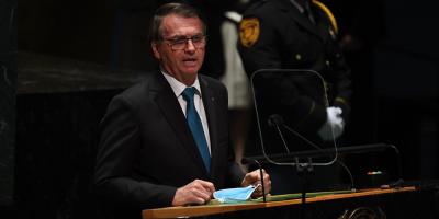 """Bolsonaro defiende el """"tratamiento precoz"""" contra la covid en la ONU"""