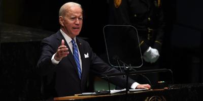 """Biden asegura ante la ONU que no busca una """"nueva Guerra Fría"""" con China"""