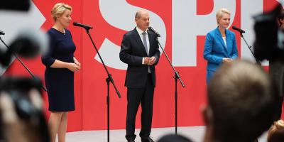 Resultados provisionales confirman victoria del SPD por estrecho margen