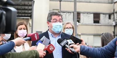 Cipriani aseguró que semana próxima se resolverá abastecimiento de agua en Hospital de San José