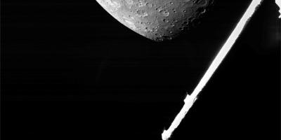 La misión BepiColombo transmite sus primeras imágenes de Mercurio