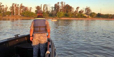 Buscan a un hombre que desapareció en las aguas del río Uruguay en Paysandú