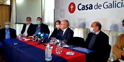"""Autoridades de Casa de Galicia afirman que el ministro Salinas """"miente a la ciudadanía"""""""