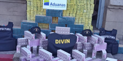 Incautaron contrabando de medicamentos y productos de higiene proveniente de Argentina