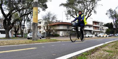 La Intendencia habilitará una nueva ciclovía por la avenida Fernández Crespo